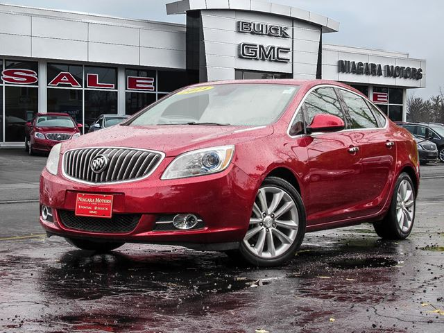 2014 BUICK VERANO Leather ** Purchased, Serviced And Traded HERE! in Virgil, Ontario
