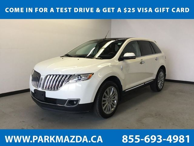 2013 LINCOLN MKX AWD in Sherwood Park, Alberta