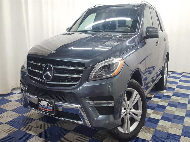 2013 MERCEDES-BENZ M-CLASS ML350 BlueTEC 4MATIC/ACCIDENT FREE/FULLY LOADED! in Winnipeg, Manitoba