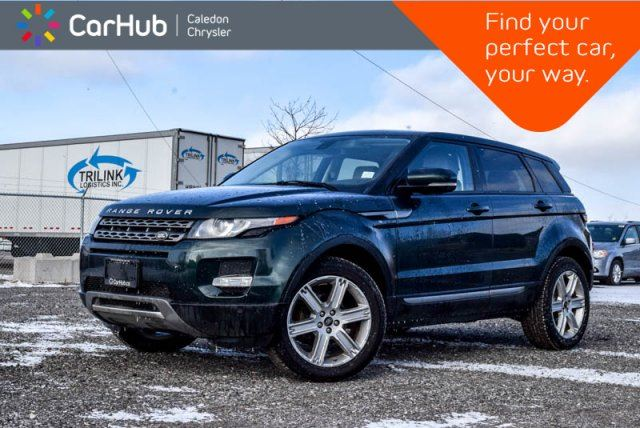 2013 LAND ROVER RANGE ROVER EVOQUE Pure Plus AWD Pano Sunroof Bluetooth Backup Cam Leather 19Alloy Rims in Bolton, Ontario