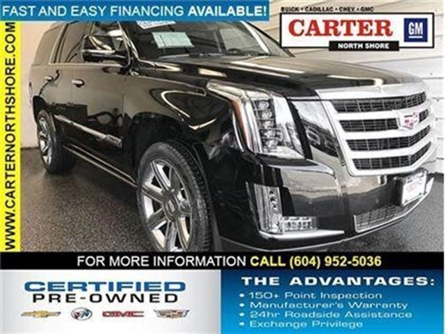 2015 CADILLAC ESCALADE Premium in North Vancouver, British Columbia