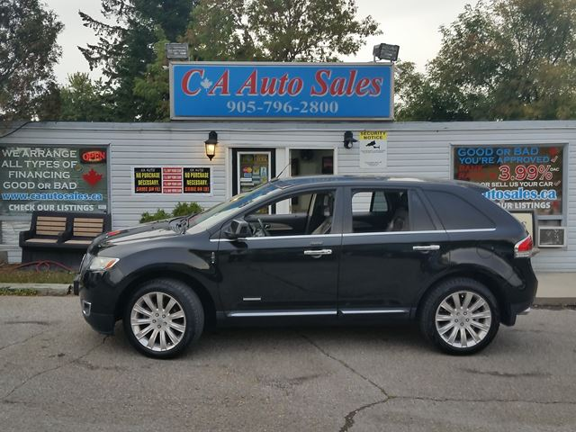 2011 LINCOLN MKX NAVI,REAR CAMERA,20INCRIMS,ALL WHEEL DRIVE,POWER LIFT GATE  in Brampton, Ontario