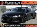 2011 Audi R8 5.2 Spyder quattro / Back up Camera / Navi / Leath in Calgary, Alberta