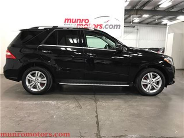 2013 MERCEDES-BENZ M-CLASS ML350 BlueTEC  ML 350 4MATIC Diesel Nav in St George Brant, Ontario