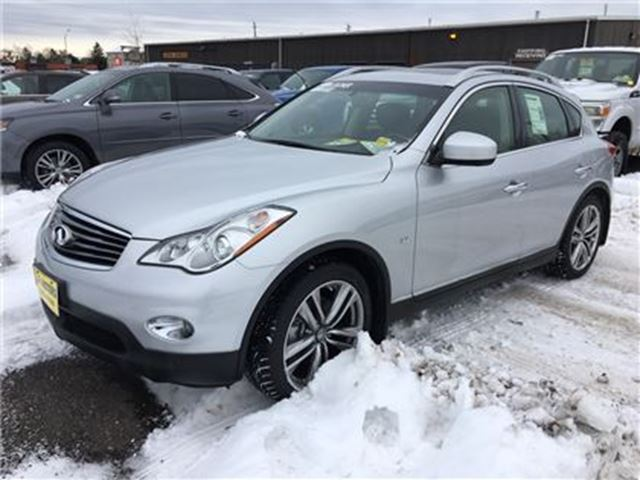 2015 INFINITI QX50 Journey, Auto, Leather, Sunroof, AWD in Burlington, Ontario