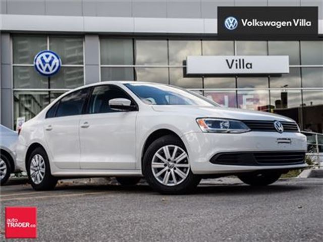2013 VOLKSWAGEN Jetta 2.0L Comfortline (A6).New BRAKES and TIRES in Thornhill, Ontario
