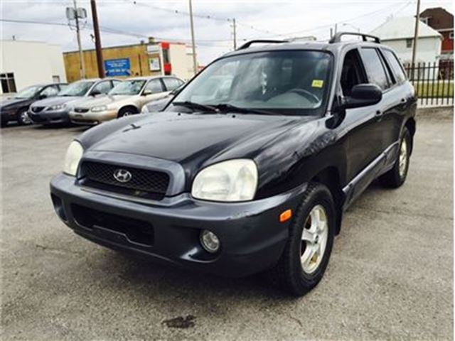 2003 HYUNDAI SANTA FE GLS * FRESH TRADE IN in London, Ontario
