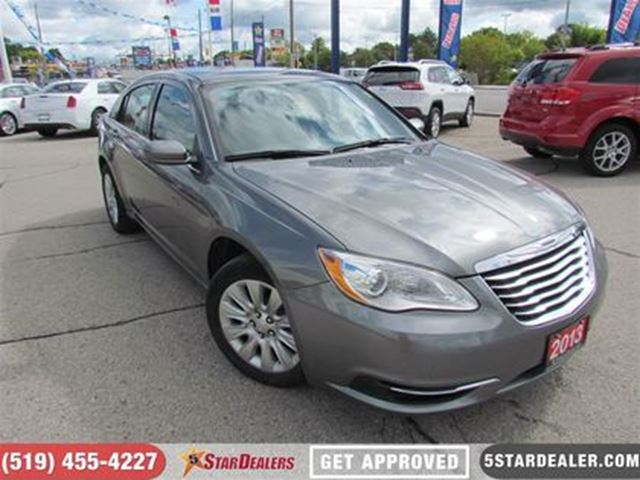 2013 CHRYSLER 200 LX in London, Ontario