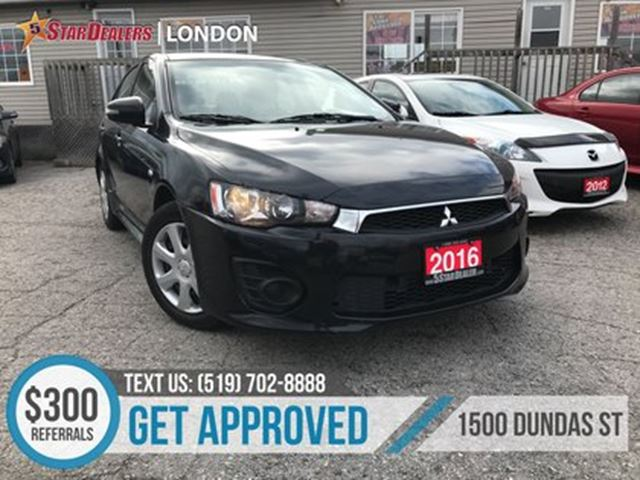 2016 MITSUBISHI LANCER ES CVT in London, Ontario