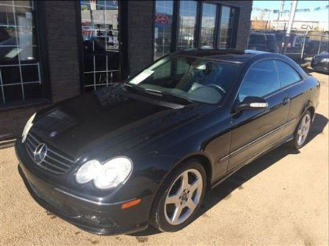 2005 MERCEDES-BENZ CLK-CLASS LOADED V8 COUPE 87K! in Edmonton, Alberta