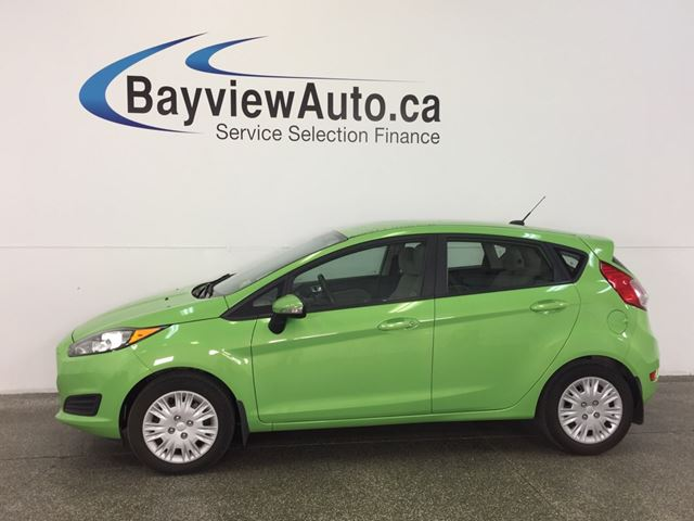2014 FORD FIESTA SE- 5 SPD|HEATED SEATS|A/C|SYNC|AMBIENT LIGHTING! in Belleville, Ontario