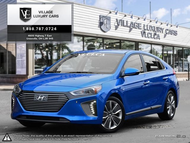used 2017 hyundai ioniq hybrid limited w tech leather navigation rear camera loaded. Black Bedroom Furniture Sets. Home Design Ideas