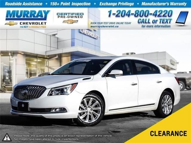 2015 BUICK LACROSSE Leather in Winnipeg, Manitoba