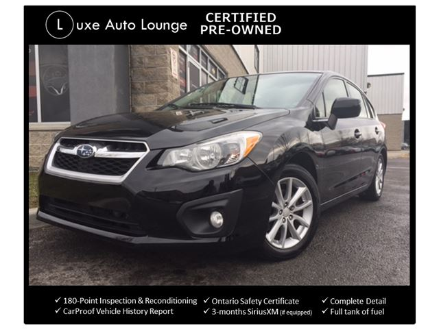 2013 Subaru Impreza 2.0i w/Touring Pkg - ALL WHEEL DRIVE, HEATED SEATS, BLUETOOTH, ALLOYS, LOADED! LUXE CERTIFIED PRE-OWNED! in Orleans, Ontario