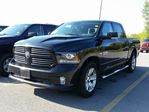 2016 Dodge RAM 1500 CREW CAB SPORT MODEL - LEATHER - ROOF - HEATED AND COOLED SEATS - BACK UP CAM in Belleville, Ontario