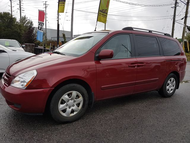 2008 KIA SEDONA LX, AUTOMATIC, AIR CONDITION, ONLY 124 KMS  in Ottawa, Ontario