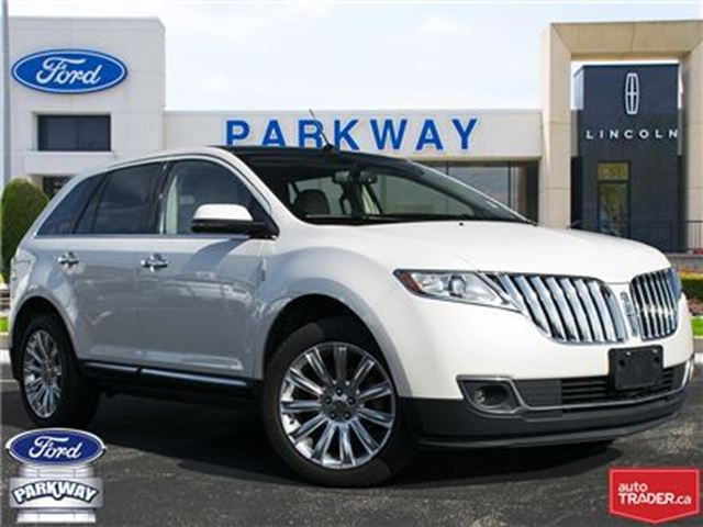 2012 LINCOLN MKX AWD  ACCIDENT FREE  ONLY $175 BIWEEKLY! in Waterloo, Ontario