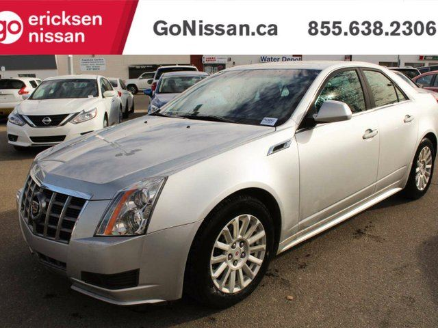 2012 CADILLAC CTS CTS - LEATHER, HEATED SEATS, LOW KM'S in Edmonton, Alberta