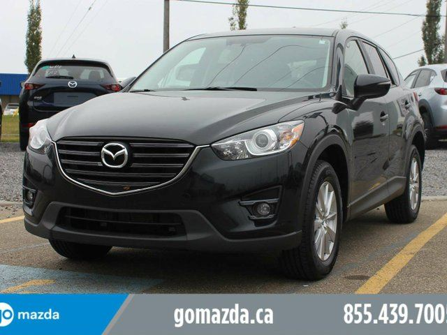 2016 MAZDA CX-5 GS AWD SUNROOF HEATED SEATS BLIND SPOT 1 OWNER ACCIDENT FREE LOCAL in Edmonton, Alberta