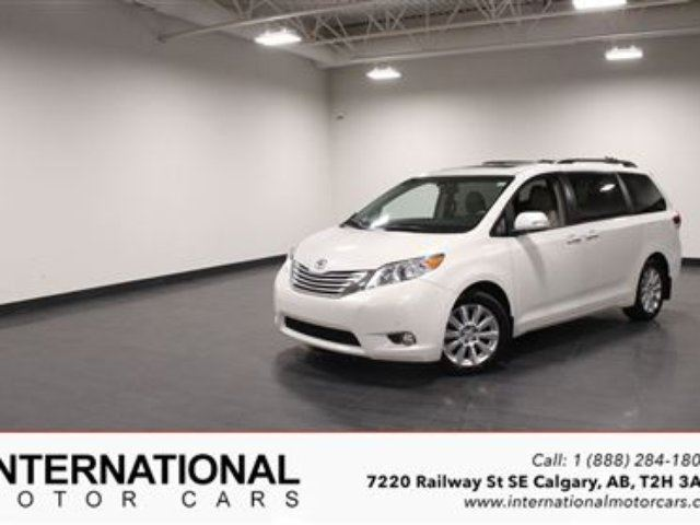2014 TOYOTA Sienna LIMITED AWD! NAVI! DVD! FULLY LOADED! in Calgary, Alberta