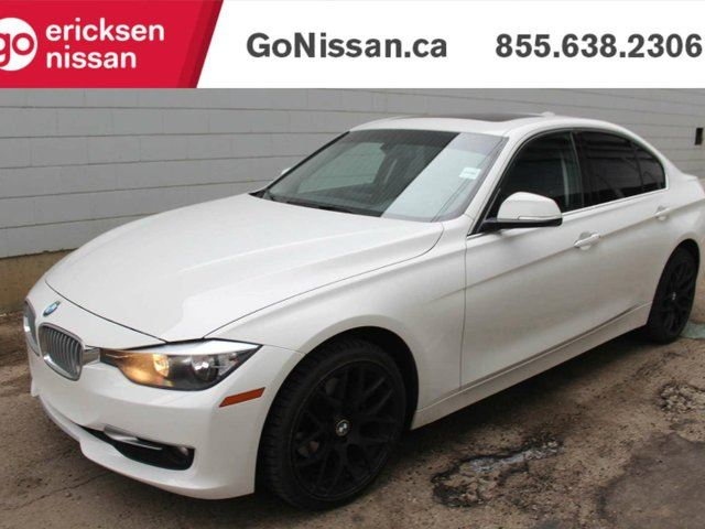 2014 BMW 3 SERIES 320 i xDrive - LEATHER, SUNROOF, NAVIGATION! in Edmonton, Alberta