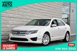 2010 Ford Fusion *HYBRID*CUIR*TOIT*BLANC*TOUTE EQUIPE*EXTRA CLEA in Longueuil, Quebec