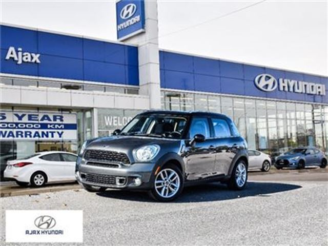 2013 MINI COOPER Countryman *Cooper S AWD in Ajax, Ontario