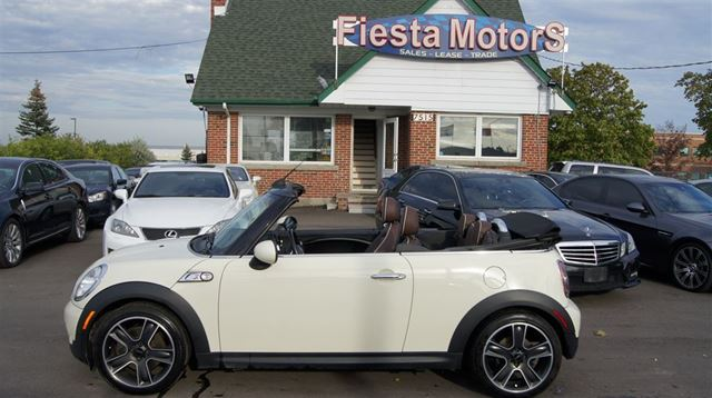 2010 MINI COOPER Cooper  Cabriolet CooperS in Woodbridge, Ontario