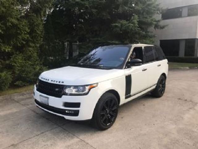 2017 LAND ROVER RANGE ROVER Super Charge in Mississauga, Ontario