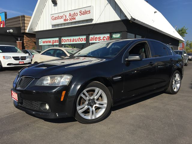 2009 PONTIAC G8 ONE-OWNER LOCAL VEHICLE! in St Catharines, Ontario