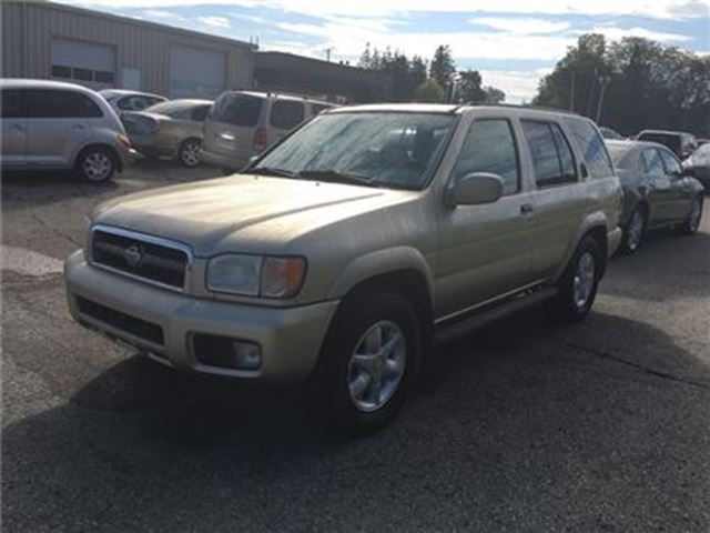 2001 NISSAN PATHFINDER XE / - CERTIFY YOURSELF $ SAVE $$$$$ in Fonthill, Ontario