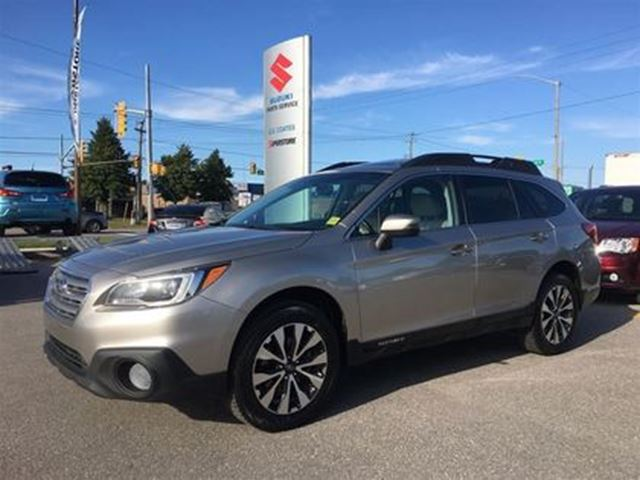 2016 SUBARU OUTBACK 3.6R Limited Pkg ~Nav ~RearView Camera ~P/Sunroof in Barrie, Ontario