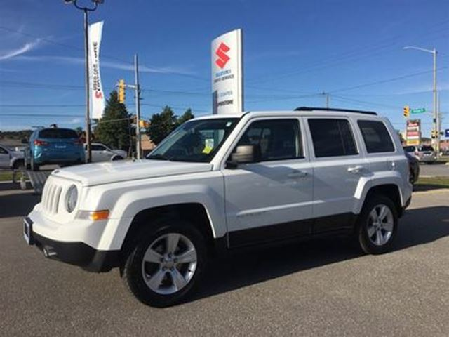 2014 JEEP PATRIOT North 4X4 ~Top Saftey Pick ~Solid Value in Barrie, Ontario
