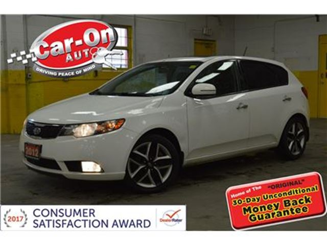 2012 KIA FORTE 2.4L SX LEATHER SUNROOF PWR GRP HTD SEATS ALLOYS in Ottawa, Ontario
