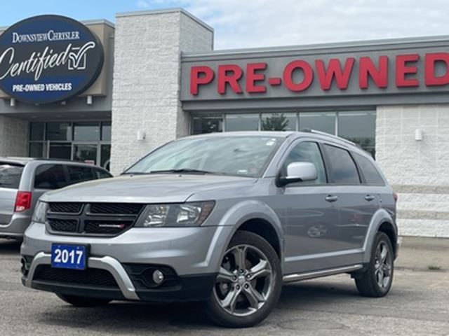 2017 DODGE Journey Crossroads   navig sunroof leather camera 7 seats in Toronto, Ontario