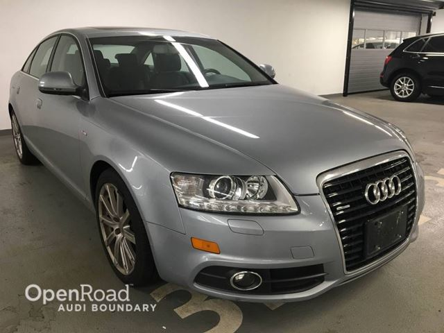 2010 AUDI A6 3.0L Special Edition w/Nav in Vancouver, British Columbia