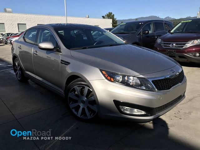 2011 KIA OPTIMA EX A/T No Accident One Owner Bluetooth AUX Leat in Port Moody, British Columbia