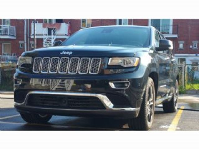 2016 JEEP Grand Cherokee Summit 4X4 , Techno set and Navigation in Mississauga, Ontario