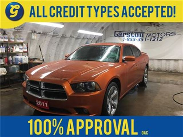 2011 DODGE CHARGER SXT*NAVIGATION*BACK UP CAMERA*POWER SUNROOF*U CONN in Cambridge, Ontario