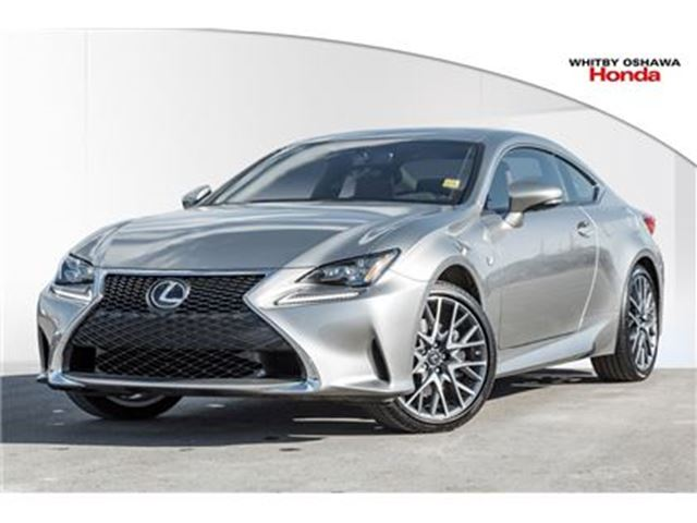 2017 LEXUS RC 350 F Sport Coupe   Automatic in Whitby, Ontario