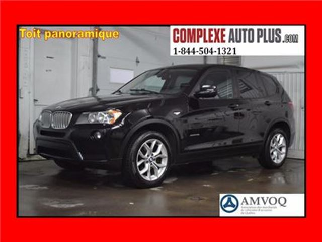 2012 BMW X3 xDrive28i *Cuir, Toit pano. in Saint-Jerome, Quebec