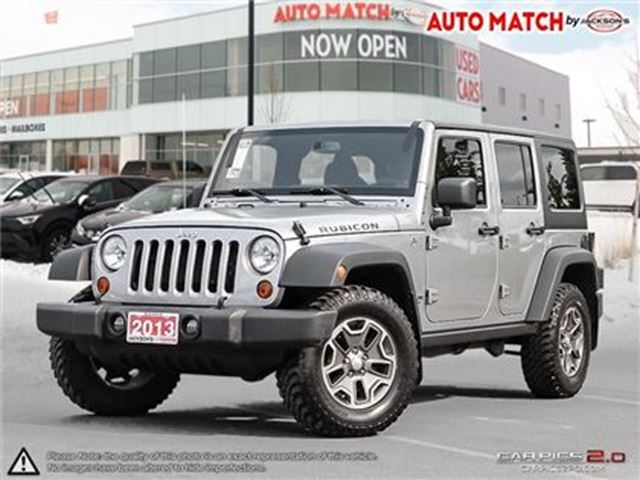 2013 JEEP WRANGLER Unlimited Rubicon in Barrie, Ontario