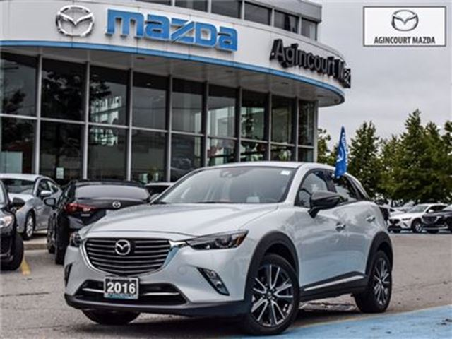 2016 MAZDA CX-3 GT TECH-BOSE, AWD, ROOF, LEATHER, 18 ALLOYS in Scarborough, Ontario