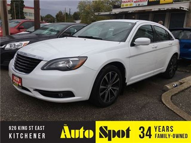 2011 CHRYSLER 200 S/NAVI-LOADED/LOW, LOW KMS! in Kitchener, Ontario