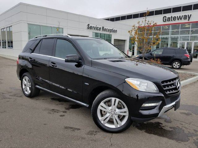 2012 MERCEDES-BENZ M-CLASS Base ML 350 BlueTEC AWD Power Liftgate, Leather Seats, Sunroof, Navi, backup Cam in Edmonton, Alberta