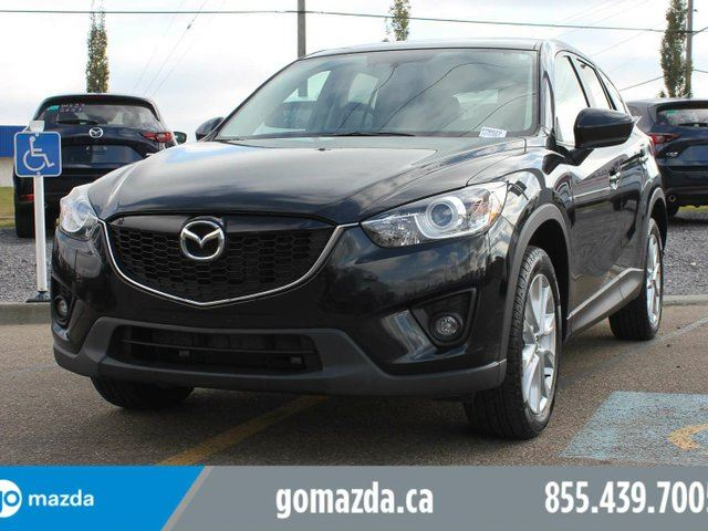 2015 MAZDA CX-5 GT AWD LEATHER SUNROOF BOSE SOUND SYSTEM HEATED SEATS 1 OWNER ACCIDENT FREE LEASE BACK in Edmonton, Alberta