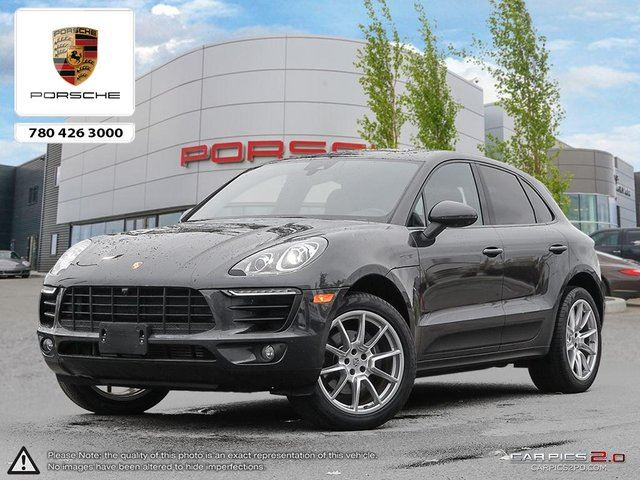 2017 PORSCHE MACAN CERTIFIED PRE-OWNED | Premium PLUS | 18-way Seats | Surround View Cameras | BOSE in Edmonton, Alberta