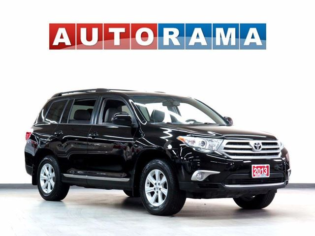 2013 TOYOTA Highlander LEATHER  7 PASSENGER 4WD BACKUP CAM in North York, Ontario