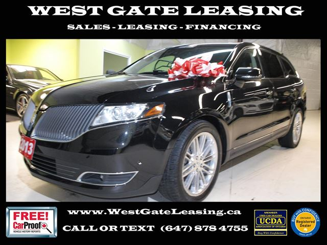 2013 LINCOLN MKT AWD  NAVI  LEATHER  LANE ASSIST  in Vaughan, Ontario