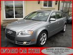 2007 Audi A4 2.0 T AWD AVANT WAGON LEATHER SUNROOF in Toronto, Ontario